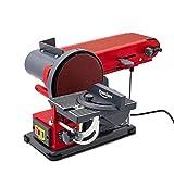 Berlan Bandschleifer & Tellerschleifer Bandschleifmaschine Schleifmaschine 350 Watt - BBTS350