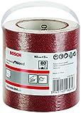 Bosch Pro Schleifrolle (für Weichholz Stundard, Wood und Paint, Breite: 93 mm Länge: 5 m Körnung 80 C410)