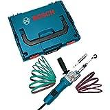 Bosch Professional 06018A8001 0 601 8A8 001 BOSCH Elektrofeile GEF 7 E + ZB + L-Boxx Schwarz, Blau