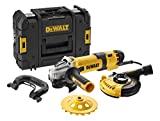 DeWalt Elektronik-Winkelschleifer'Beton' 125 mm - 1500 W, 240 V, DWE4257KT-QS