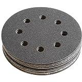 FEIN Schleifblätter | Korn 180 | Durchmesser 115 mm | rund und gelocht | Inhalt 16 Stück zu Multimaster, Zubehör für Schleifer