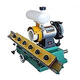 SISHUINIANHUA Holzbearbeitungs Gerade Messerschärfer Bench Kantenschleifmaschine Gerade Klinge zur Holzschleifer 220V 0.56KW Schleifmaschine Maschine