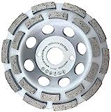 PRODIAMANT Premium Diamant-Schleiftopf 125mm Beton universal 125 mm x 22,2 mm Schleifscheibe doppelreihig